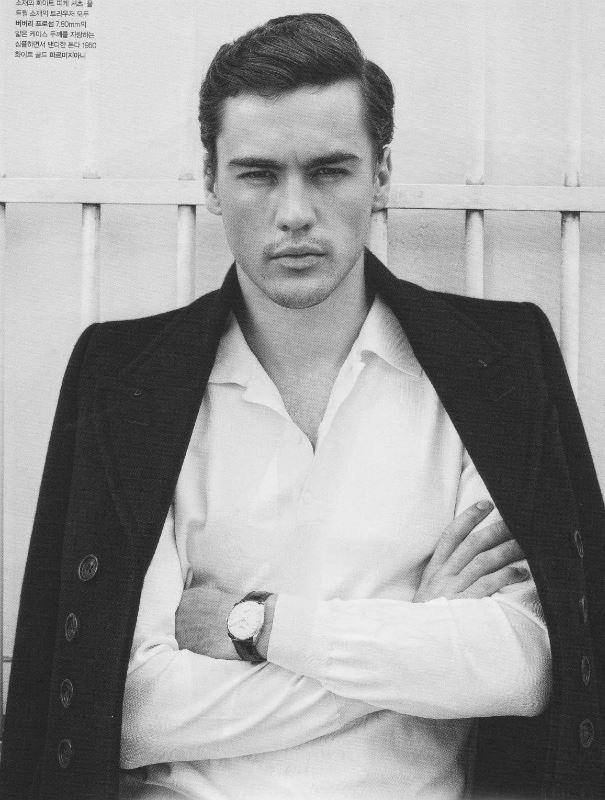 Erko Brandt model (modello). Photoshoot of model Erko Brandt demonstrating Face Modeling.Face Modeling Photo #104849