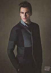 Erko Brandt model (modello). Photoshoot of model Erko Brandt demonstrating Fashion Modeling.Fashion Modeling Photo #104861