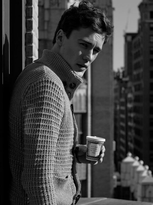 Erko Brandt model (modello). Photoshoot of model Erko Brandt demonstrating Face Modeling.Face Modeling Photo #104862