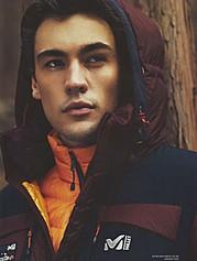 Erko Brandt model (modello). Photoshoot of model Erko Brandt demonstrating Face Modeling.Face Modeling Photo #104863