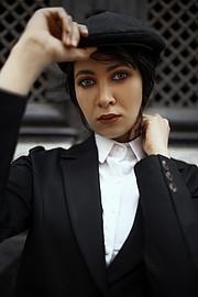 Esraa Yahia model. Photoshoot of model Esraa Yahia demonstrating Face Modeling.Face Modeling Photo #231930