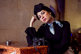 Esraa Yahia model. Photoshoot of model Esraa Yahia demonstrating Fashion Modeling.Fashion Modeling Photo #232388