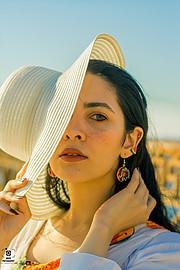 Esraa Yahia model. Photoshoot of model Esraa Yahia demonstrating Face Modeling.Face Modeling Photo #232662