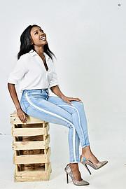 Eulene Vulegani is a Kenyan model and lifestyle blogger currently based in Nairobi, Kenya . Eulene's modelling career kicked off when she pa