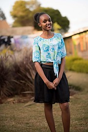 Eunice Mukuria is an aspiring model currently located in Nairobi,Kenya.Eunice was crowned the best fashion model in her former in the year 2