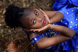 Eunice Wanjiku model. Photoshoot of model Eunice Wanjiku demonstrating Face Modeling.Face Modeling Photo #209754