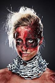 Eva Hronn Hlynsdottir makeup artist (Eva Hrönn Hlynsdóttir sminka). Work by makeup artist Eva Hronn Hlynsdottir demonstrating Special Fx Makeup.Horror Film SFXSpecial Fx Makeup Photo #106168