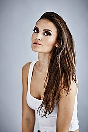 Eva Hronn Hlynsdottir makeup artist (Eva Hrönn Hlynsdóttir sminka). Work by makeup artist Eva Hronn Hlynsdottir demonstrating Beauty Makeup.Beauty Makeup Photo #166481