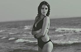Eva Murati model (modele). Photoshoot of model Eva Murati demonstrating Fashion Modeling.Fashion Modeling Photo #111487