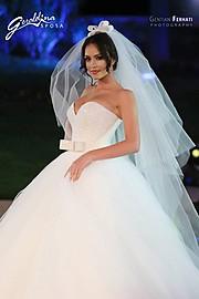Eva Murati model (modele). Photoshoot of model Eva Murati demonstrating Runway Modeling.Wedding GownRunway Modeling Photo #145186