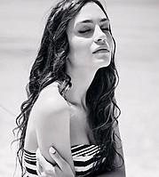 Eva Murati model (modele). Photoshoot of model Eva Murati demonstrating Face Modeling.Face Modeling Photo #171769