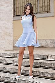 Eva Murati model (modele). Photoshoot of model Eva Murati demonstrating Fashion Modeling.Fashion Modeling Photo #173765