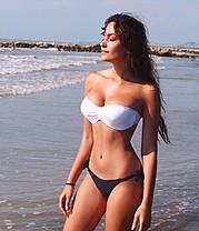 Eva Murati model (modele). Photoshoot of model Eva Murati demonstrating Body Modeling.designer:  Luna UnderwearSwimwearBody Modeling Photo #186916