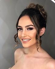 Eva Murati model (modele). Photoshoot of model Eva Murati demonstrating Face Modeling.Face Modeling Photo #213220