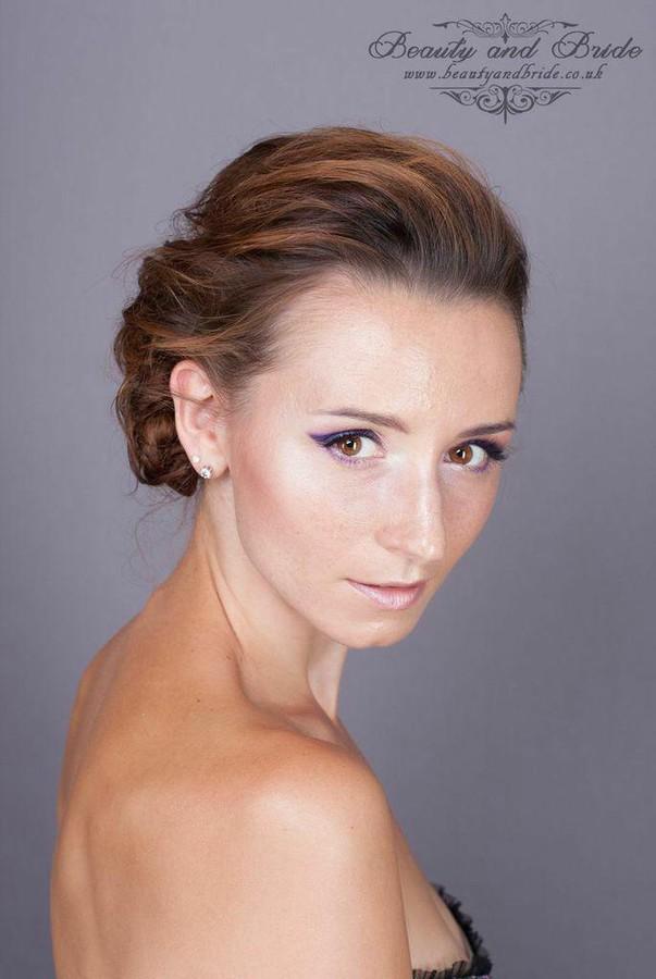 Ewa Paczkowska model & makeup artist. Photoshoot of model Ewa Paczkowska demonstrating Face Modeling.Face Modeling Photo #129201