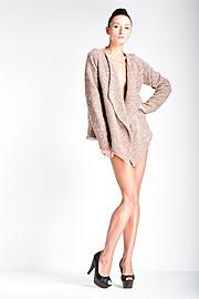 Ewa Paczkowska model & makeup artist. Ewa Paczkowska demonstrating Fashion Modeling, in a photoshoot by Steve Robertson.Photographer: Steve Robertson Designer: Ursula Melanchez MUA: Kimberley BrookFashion Modeling Photo #129220