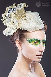 Ewa Paczkowska model & makeup artist. Ewa Paczkowska demonstrating Commercial Modeling, in a photoshoot by Jay Alonzo.photographer Jay AlonzoCommercial Modeling Photo #129200