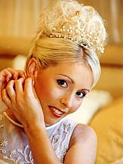 Fabienne Zadel hair stylist & makeup artist. Work by hair stylist Fabienne Zadel demonstrating Bridal Hair Styling.Bridal Makeup,Bridal Hair Styling Photo #117930