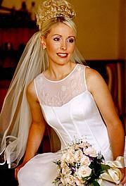 Fabienne Zadel hair stylist & makeup artist. Work by hair stylist Fabienne Zadel demonstrating Bridal Hair Styling.Bridal Makeup,Bridal Hair Styling Photo #117933
