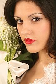 Fani Kazana makeup artist (μακιγιέρ). Work by makeup artist Fani Kazana demonstrating Bridal Makeup.Bridal Makeup Photo #157460