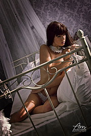 Fanny Muller (Müller Fanny) model. Photoshoot of model Fanny Muller demonstrating Body Modeling.Body Modeling Photo #106109