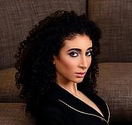 Faten Saber model. Photoshoot of model Faten Saber demonstrating Face Modeling.Face Modeling Photo #197312