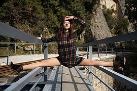 Fereniki Kalafati model (Φερενίκη Καλαφάτη μοντέλο). Photoshoot of model Fereniki Kalafati demonstrating Fashion Modeling.Fashion Modeling Photo #223008