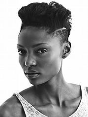 Fikile Kiki Mkhuzangwe model. Photoshoot of model Fikile Kiki Mkhuzangwe demonstrating Face Modeling.Face Modeling Photo #147486