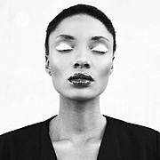 Fikile Kiki Mkhuzangwe model. Photoshoot of model Fikile Kiki Mkhuzangwe demonstrating Face Modeling.Face Modeling Photo #147488