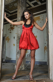 Floriana Garo model (modele). Photoshoot of model Floriana Garo demonstrating Fashion Modeling.Fashion Modeling Photo #58787
