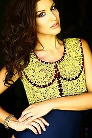 Floriana Garo model (modele). Photoshoot of model Floriana Garo demonstrating Fashion Modeling.Fashion Modeling Photo #58791