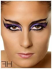 Florina Ursache makeup artist. Work by makeup artist Florina Ursache demonstrating Creative Makeup.Portrait Photography,Creative Makeup Photo #59973