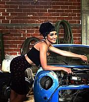 Fotini Siapkari makeup artist (Φωτεινή Σιαπκάρη μακιγιέρ). Work by makeup artist Fotini Siapkari demonstrating Fashion Makeup.Fashion Makeup Photo #161324