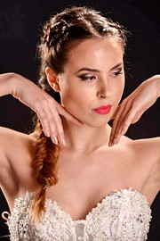 Fotini Siapkari makeup artist (Φωτεινή Σιαπκάρη μακιγιέρ). Work by makeup artist Fotini Siapkari demonstrating Bridal Makeup.Bridal Makeup Photo #161332