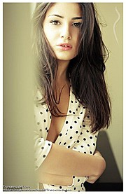 Francesca Sheryl De Luca model (modella). Photoshoot of model Francesca Sheryl De Luca demonstrating Face Modeling.Face Modeling Photo #120467