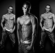 Fredrik Skogsrud model (modell). Photoshoot of model Fredrik Skogsrud demonstrating Body Modeling.Body Modeling Photo #80665