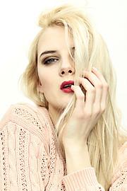 Gabyte Nagrockyte model (modella). Photoshoot of model Gabyte Nagrockyte demonstrating Face Modeling.Face Modeling Photo #84891