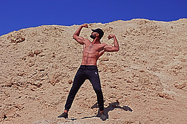 Galal Taher (جلال طاهر) model. Photoshoot of model Galal Taher demonstrating Body Modeling.Body Modeling Photo #218927