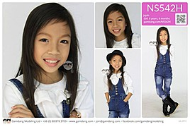 Gamdang Bangkok modeling agency (โมเดลลง เอเจนซ). Girls Casting by Gamdang Bangkok.Girls Casting Photo #95977
