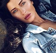 Gemma Lee Farrell model. Photoshoot of model Gemma Lee Farrell demonstrating Face Modeling.Face Modeling Photo #160280