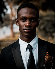 George Jedidiah model. Photoshoot of model George Jedidiah demonstrating Face Modeling.Face Modeling Photo #218523
