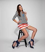 Georgia Papadoulaki model (Γεωργία Παπαδουλάκη μοντέλο). Photoshoot of model Georgia Papadoulaki demonstrating Fashion Modeling.Fashion Modeling Photo #225616