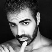 Giannis Efstathiou model (Γιάννης Ευσταθίου μοντέλο). Photoshoot of model Giannis Efstathiou demonstrating Face Modeling.Face Modeling Photo #174656