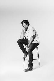 Gino Chiappini model. Photoshoot of model Gino Chiappini demonstrating Face Modeling.Face Modeling Photo #223311