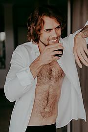 Gino Chiappini model. Photoshoot of model Gino Chiappini demonstrating Body Modeling.Body Modeling Photo #223313