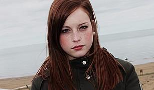 Giorgia Coccia model (modella). Photoshoot of model Giorgia Coccia demonstrating Face Modeling.Face Modeling Photo #147517