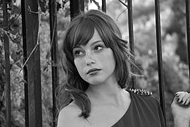 Giorgia Coccia model (modella). Photoshoot of model Giorgia Coccia demonstrating Face Modeling.Face Modeling Photo #147520
