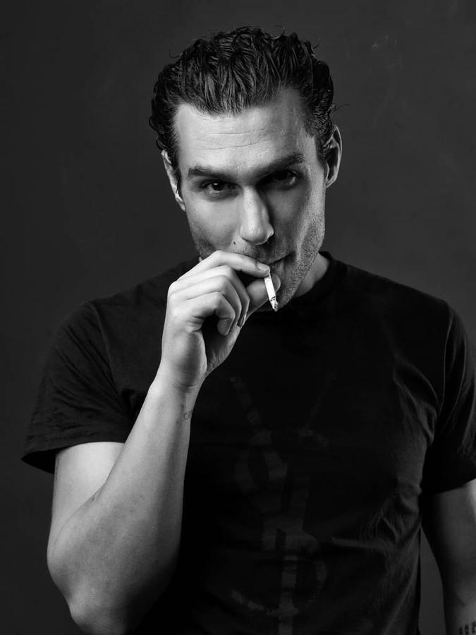 Giorgio Charisi model (Γιώργος Χαρίσης μοντέλο). Photoshoot of model Giorgio Charisi demonstrating Face Modeling.Face Modeling Photo #108842