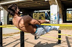 Giorgos Kourtesis athlete. Modeling work by model Giorgos Kourtesis. Photo #217263