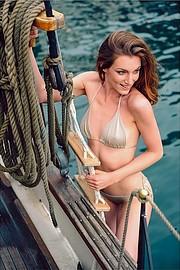 Giulia Nicole Magro model (modella). Photoshoot of model Giulia Nicole Magro demonstrating Body Modeling.@calendarioraffmetal by @albertobuzzancaBody Modeling Photo #214714